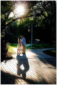 Couple at MSU Campus | Rayan Anastor Photography | Michigan State University Engagement Photographer
