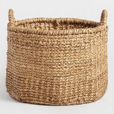 Extra Large Hyacinth Lynnette Tote Basket - v1