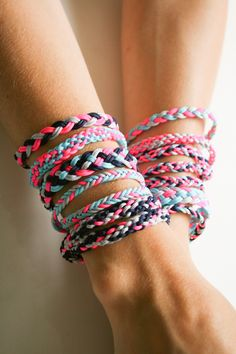 Braided Friendship Bracelets   The Purl Bee