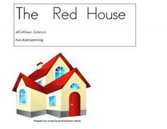 """Teacher's Notebook freebie=The Red House an apple themed story from Fun and Learning on TeachersNotebook.com -  (20 pages)  - This is a remake of """"The Red House"""", an ancient story about finding a star in the middle of an apple."""