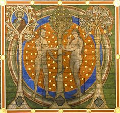 Tree of Jesse: Adam & Eve in paradise   Flickr - Photo Sharing!
