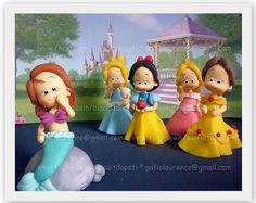 Disney little girl princesses...just adorable!