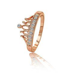 Gold Princess Tiara Ring