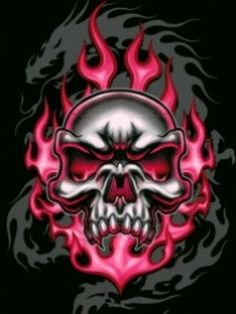 COLORFUL SKULL photo, this picture was uploaded by Browse other COLORFUL SKULL pictures and photos or upload your own with Photobucket free image and video hosting service. Skull Tattoos, Body Art Tattoos, Evil Skull Tattoo, Cowboy Tattoos, Totenkopf Tattoos, Colorful Skulls, Skull Pictures, Skull Artwork, Skull Drawings
