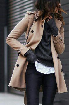 #streetstyle #jacket #greysweater #iwant