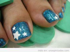 40 Creative Toe Nail Art designs and ideas www. - 40 Creative Toe Nail Art designs and ideas www. Toenail Art Designs, Pedicure Designs, Pedicure Nail Art, Toe Nail Art, Simple Toe Nails, Cute Toe Nails, Pretty Nails, Pretty Toes, Hair And Nails