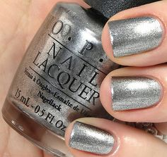 OPI Haven't The Foggiest Nail Polish F55 NEW! Silver