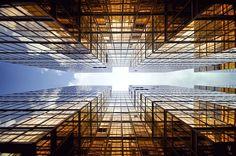 Perspectives verticales à Hong Kong Photo