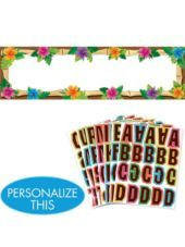 Personalized Luau Banner-Party City