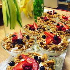 Feeling inspired by all the tips being shared at the conference breakfast, whilst the attendees enjoy our fresh yoghurt with berries and granola. #2delicious4words #breakfast #friday #catering #yoghurt #granola #berries #strawberries #goodfood #foodporn #2016 #functions