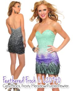 Will you be on-trend this summer at your upcoming event? Find out how on our blog!  http://preciousformalsblog.com/2013/05/20/summer-trend-alert-feathered-frocks/