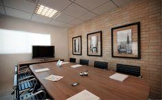 Sala de reunião - projeto corporativo de RF Design de Interiores