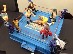 WWF Superstars in Ring(Hasbro)