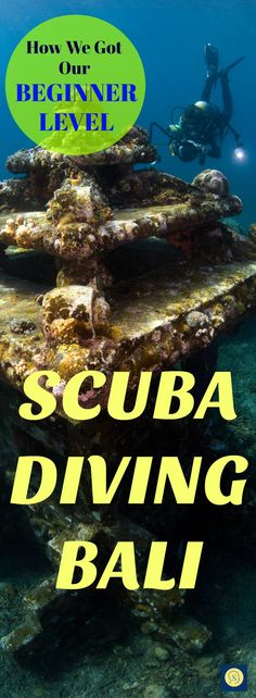 How we did our first scuba diving in Bali! Tulamben in the best place for adventure scuba diving holidays in Bali. Rome Travel, Bali Travel, India Travel, Scuba Diving Bali, Weather In India, Packing List For Travel, Budget Travel, Travel Tips