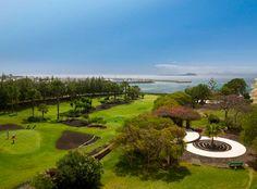 The golf course at Hesperia Playa Dorada in Lanzarote