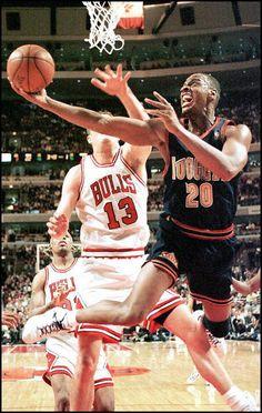 pretty nice 64e4b 85d75 1992  LaPhonso Ellis (No. 5) Denver Nuggets forward LaPhonso