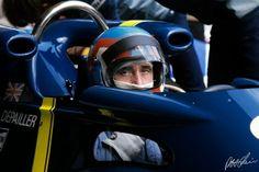 Patrick Depailler Tyrrell P34 en 1976