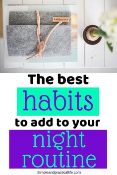 How To Start A Productive Night Routine In 2019 – Having trouble keeping it together in the mornings? Check out these evening routine habits that will make your mornings a breeze. Evening Routine, Night Routine, Daily Routine For Women, Daily Routines, Self Development Books, Personal Development, Practical Life, Love Tips, Time Management Tips