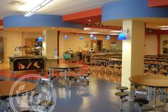 Grand Rapids Public Schools at Westwood Student Center / Cafe - Jennifer Butler Interior Design