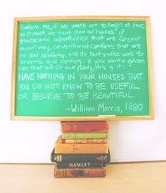 Useful & Beautiful ~ William Morris