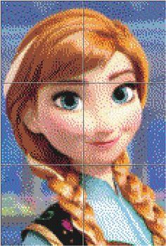 See more ideas about Disney Princess, Hama bead and Hama Beads. Disney Hama Beads Pattern, Perler Bead Disney, Pearl Beads Pattern, Hama Beads Patterns, Perler Bead Art, Perler Beads, Cross Stitch Designs, Cross Stitch Patterns, Pixel Art