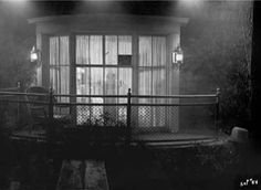 bedroom window from outside production still