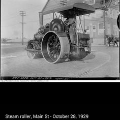 Steam Roller :1929 Back In Time, Rollers, Antique Cars, Landscape, Antiques, Antiquities, Antique, Vintage Cars