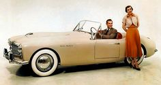 THE FABULOUS 50'S - FROM FLATHEADS TO FINS! - 1954 KAISER - HEALEY - CONVERTIBLE