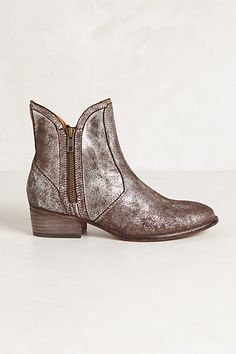 Fall style- want now . Hurry up and get back in stock. metallic boot