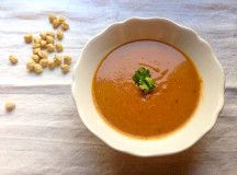 Food e Mag dxb Issue 2 - Spring vegetable recipes - tomato and chickpea soup