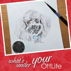 creates these amazing portraits under their OttLite. What do you use your OttLite to create? Make sure to tag us and use for a chance to be featured! Light Crafts, Desk Light, Hand Stitching, Floor Lamp, Quilting, Crafting, The Incredibles, Portraits, Create