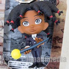 RARE! Hunter x Hunter Canary Butler Mini Figure Key Holder Chain JAPAN ANIME #Banpresto