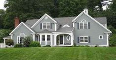67 Best Gray House With Colored Doors Images Exterior