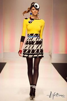 Mondo Guerra design. A little cray cray and I love it. Runway Allstars starts next Thursday...Team Mondo!