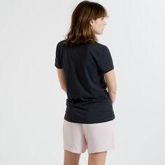 The Women's V - Muted Black