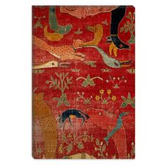 Have to have it. Carpet from Court of Great Mughal Akbar Canvas Print $57.99