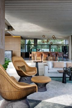 Interior design inspiration from a home in South Africa.