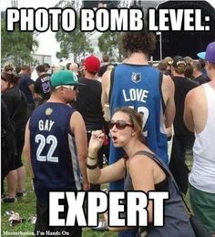 Photo bomb lever expert  // funny pictures - funny photos - funny images - funny pics - funny quotes - #lol #humor #funnypictures