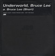 """For Sale - Underworld Bruce Lee - Short UK Promo  CD single (CD5 / 5"""") - See this and 250,000 other rare & vintage vinyl records, singles, LPs & CDs at http://991.com"""