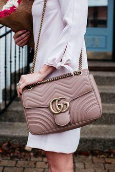 5574ba67d2 Gucci Marmont bag   fashion week street style  desginerbag  fashionweek   luxury  streetstyle