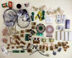 Kosmos Radio Bauteile Großes Konvolut +5Anleitungsbücher unbenutzt | eBay