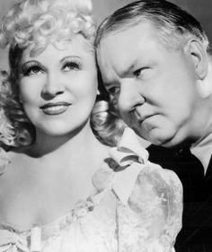 Mae West and W.C. Fields in My Little Chickadee, 1940