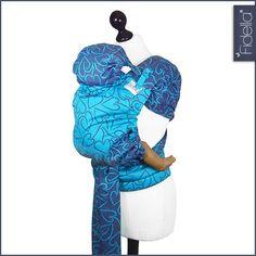 Fidella babywrap - Amors Love Arrows -plum, Fidella® baby
