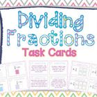 DIFFERENTIATED Dividing Fractions Task Cards using visual models and meeting Common Core Standards for grade. Bonus posters included that . Math Games For Kids, Fun Math Activities, Common Core Math, Common Core Standards, Math Classroom, Classroom Ideas, Teaching Math, Teaching Ideas, I Love Math
