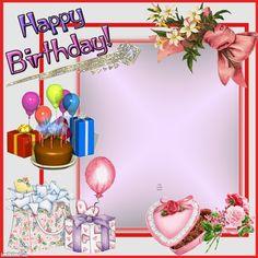 Birthday Wishes With Photo, Happy Birthday Flowers Wishes, Birthday Wishes Greetings, Happy Birthday Frame, Happy Birthday Posters, Birthday Wishes And Images, Happy Birthday Pictures, Birthday Frames, Birthday Cake Write Name