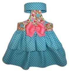 Kati Lou Dog Dress and Dog Blouse Pattern 1551 * Small & Medium * Dog Clothes…: