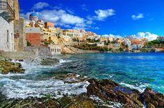 ☼ Grecia Greece ☼ Cyclades Island Ermoupoli-in-Syros-Island-greece- Italy Travel, Travel Usa, Greece Travel, Greece Trip, Visit Greece, Greece Vacation, Fun Travel, Travel Info, Vacation Spots