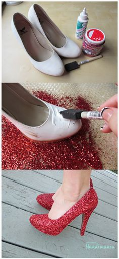 How to Make Your Own Pair of Ruby Slippers for Under $5 | Stay at Home Mum