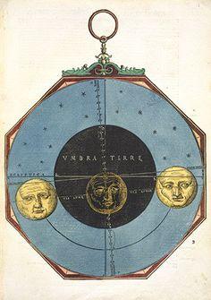 Michael Ostendorfer: Astronomicum Caesareum. 1540. Renaissance astrolabe.