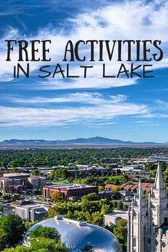 Free Activities in Salt Lake